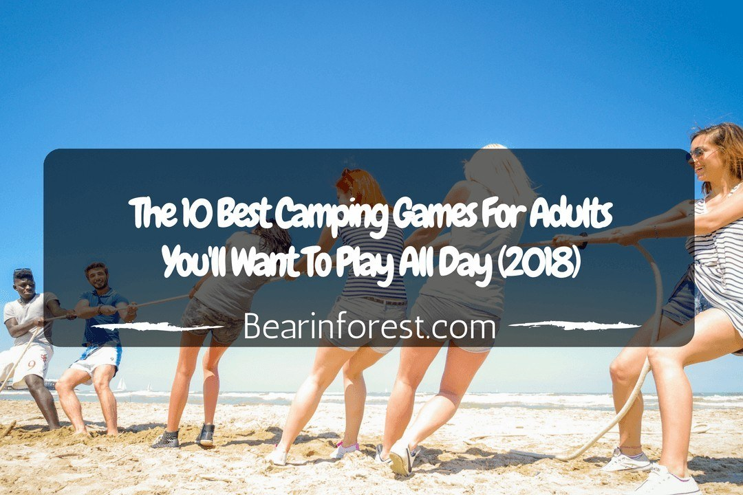 The 10 Best Camping Games For Adults You'll Want To Play All Day (2018)