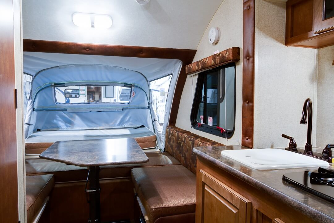 Get the Best for Your Road Trips With A Chalet A-Frame Camper 3