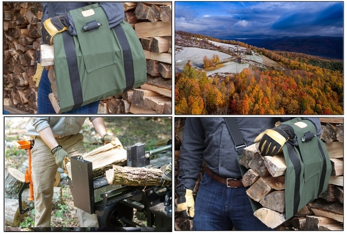 What You Wanted to Know About WoodOX Sling – The Ultimate Firewood Carrier