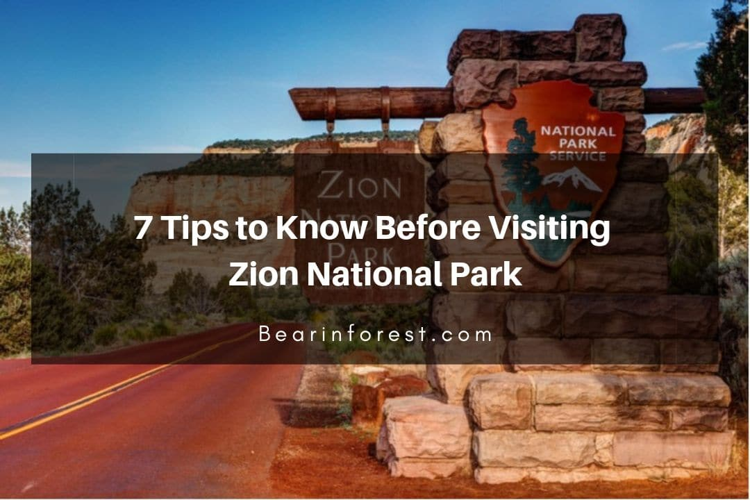 7 Tips to Know Before Visiting Zion National Park- feature