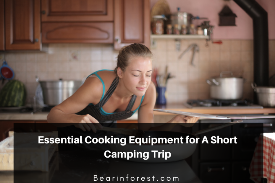 Essential Cooking Equipment for A Short Camping Trip