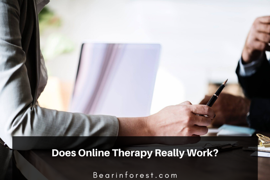 Does Online Therapy Really Work