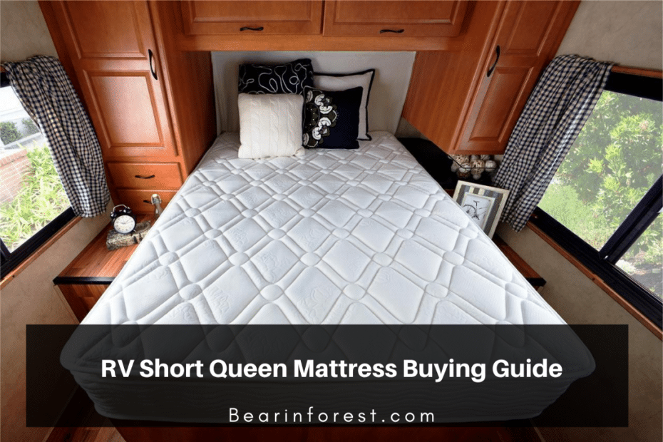 RV Short Queen Mattress Buying Guide